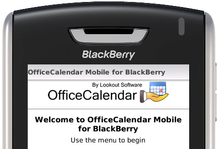 Outlook BlackBerry Sync